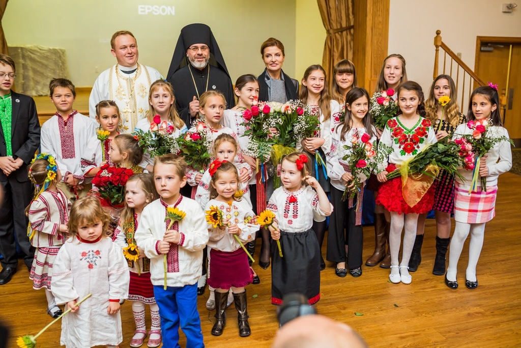 Ukraine First Lady Visits The 53